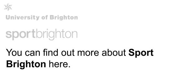 Sport Brighton More Info